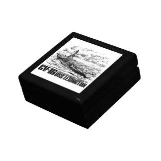 Boîte À Souvenirs Porte-avions Lexington Giftbox