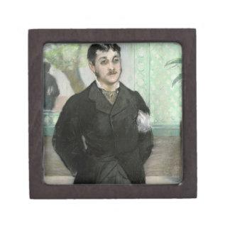 Boîte À Souvenirs Portrait de Manet   de M. Gauthier-Lathuille