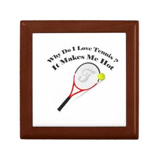 Boîte À Souvenirs Pourquoi font le tennis d'amour d'I. Il me rend