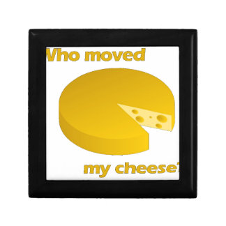 Boîte À Souvenirs Qui a déplacé le fromage