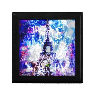 Boîte À Souvenirs Rêves parisiens d'arc-en-ciel de ceux qui nous