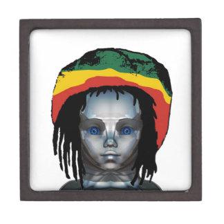 Boîte À Souvenirs Robotique Rastafarian