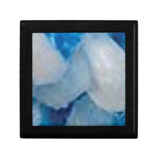 Boîte À Souvenirs roches bleues et blanches
