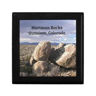 Boîte À Souvenirs Roches de Hartman, Gunnison, Co