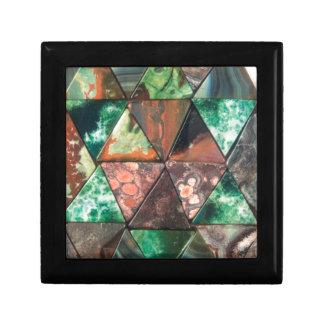 Boîte À Souvenirs Roches de triangle