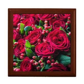 Boîte À Souvenirs Roses rouges