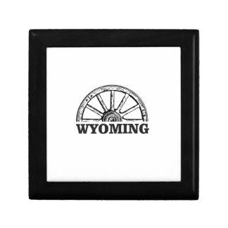 Boîte À Souvenirs roue du Wyoming