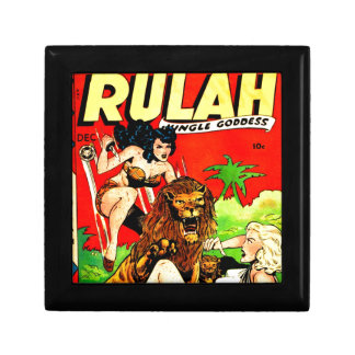 Boîte À Souvenirs Rulah et un grand lion effrayant