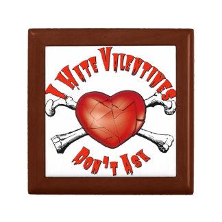 Boîte À Souvenirs Saint-Valentin de haine des Anti-Valentines I ; Ne