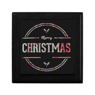 Boîte À Souvenirs Salutation de Joyeux Noël