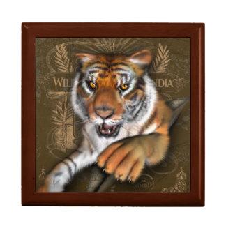 Boîte À Souvenirs Sauvage au sujet des tigres