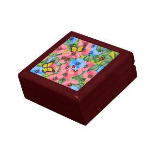 Boîte À Souvenirs Scène florale
