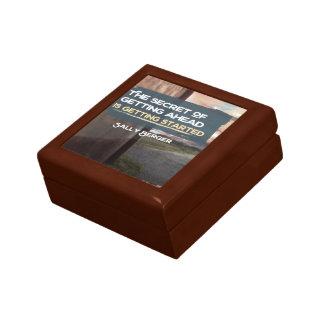 Boîte À Souvenirs Secret de l'obtention en avant