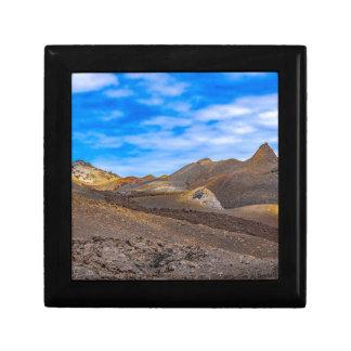 Boîte À Souvenirs Sierra paysage de Negra, Galapagos, Equateur