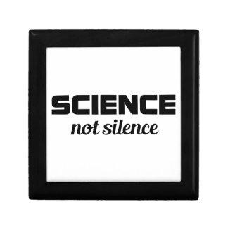 Boîte À Souvenirs Silence de la Science pas