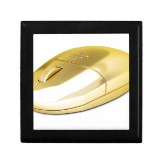 Boîte À Souvenirs Souris sans fil d'or
