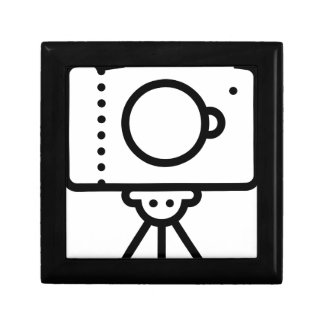 Boîte À Souvenirs Support de trépied d'appareil-photo