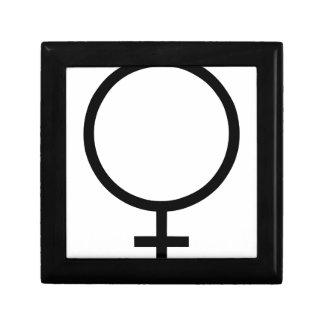 Boîte À Souvenirs Symbole femelle
