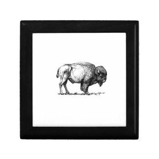Boîte À Souvenirs taureau costaud de buffle