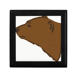 Boîte À Souvenirs Tête d'ours