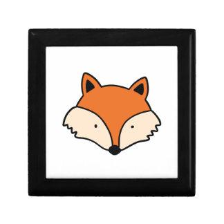 Boîte À Souvenirs Tête simple de renard