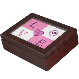 Boîte À Souvenirs Toujours boîte à bijoux d'amour