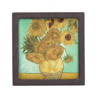 Boîte À Souvenirs Tournesols de Vincent van Gogh  , 1888