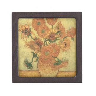 Boîte À Souvenirs Tournesols de Vincent van Gogh  , 1889