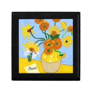Boîte À Souvenirs Tournesols Van Gogh