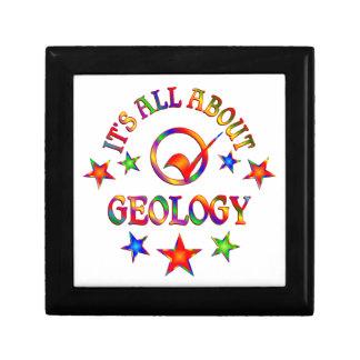 Boîte À Souvenirs Tout au sujet de la géologie