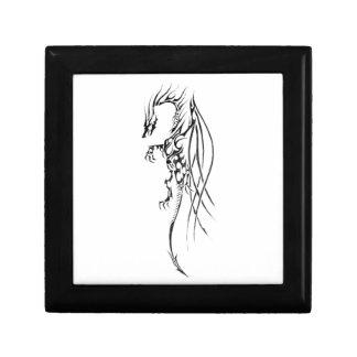 Boîte À Souvenirs Tribal dragon