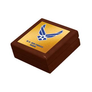 Boîte À Souvenirs U.S. Boîte en bois de souvenir de bijoux de maman