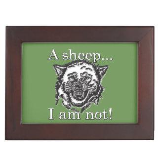 Boîte À Souvenirs Un mouton… Je ne suis pas