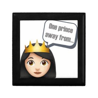 Boîte À Souvenirs un prince à partir d'Emoji