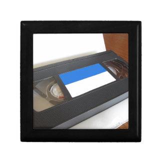 Boîte À Souvenirs Vidéocassette périmée. Vieille cassette vidéo sur