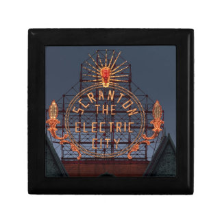 Boîte À Souvenirs Ville électrique de Scranton