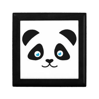 Boîte À Souvenirs visage d'ours panda