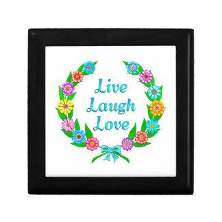 Boîte À Souvenirs Vivent l'amour de rire