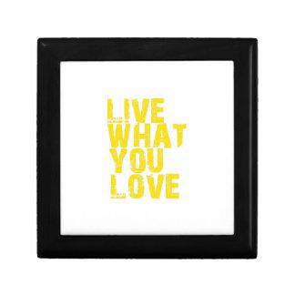 Boîte À Souvenirs vivez ce que vous aimez
