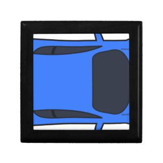 Boîte À Souvenirs Voiture de sport bleu-foncé