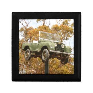 Boîte À Souvenirs Voiture sur un poteau, Keith, Australie