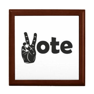 Boîte À Souvenirs Vote d'illustration pour la paix