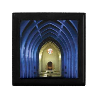 Boîte À Souvenirs Voûtes dans l'église bleue