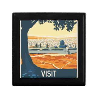 Boîte À Souvenirs Voyage vintage Palestine
