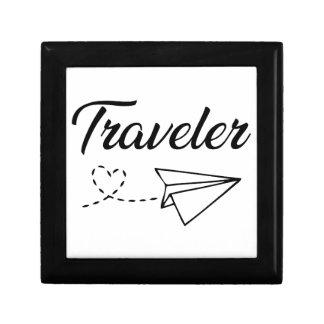 Boîte À Souvenirs Voyageur