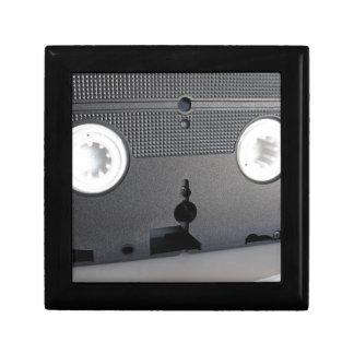 Boîte À Souvenirs Vue arrière d'une vidéocassette périmée simple