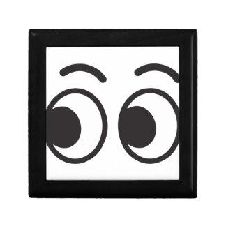 Boîte À Souvenirs Yeux regardant l'emoji