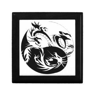 Boîte À Souvenirs Ying Yang dragon