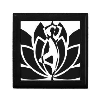 Boîte À Souvenirs Yoga Lotus