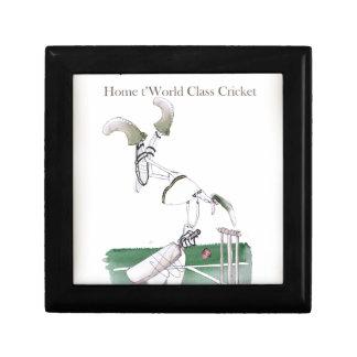 Boîte À Souvenirs Yorkshire 'à la maison au cricket de classe du